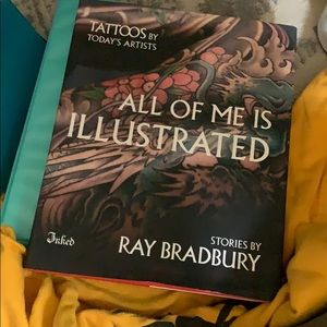 Tattooed ft ray bradbury (book)